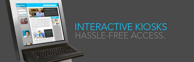 Interactive Kiosks for Hassel-free Internet Access.