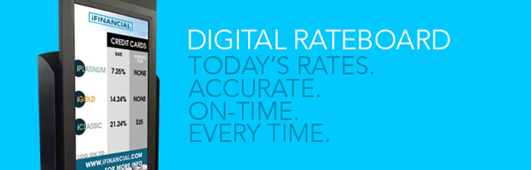 Digital Rateboard: Today's Rates. Accurate. On-time. Every Time.