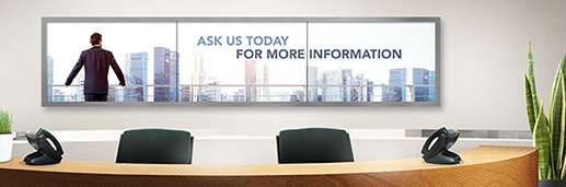 Digital Signage Installation - Video Wall